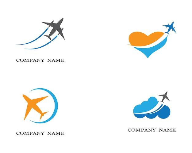 Airplane symbol illustration Premium Vector