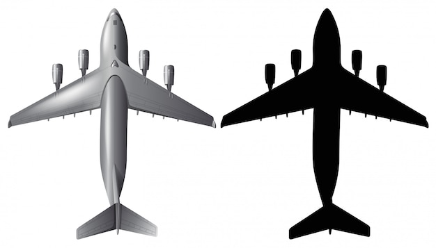 Airplane Silhouette Images Free Vectors Stock Photos Psd