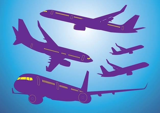 Airplanes Vectors