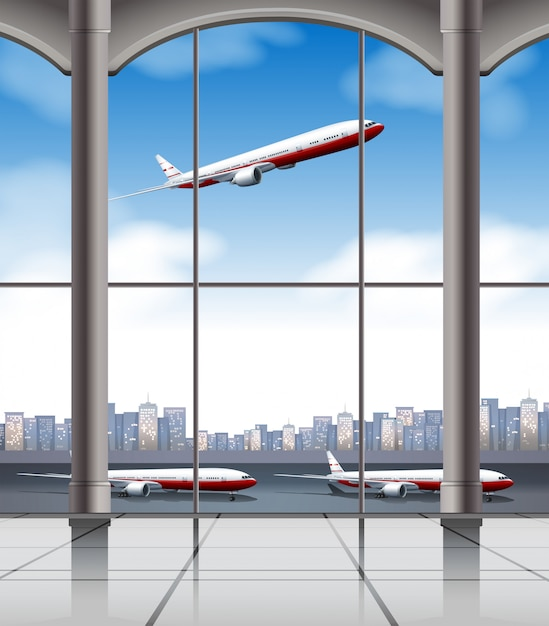 Airport Free Vector