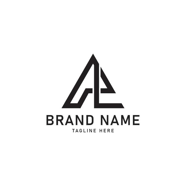 Al initial letter icon logo Premium Vector