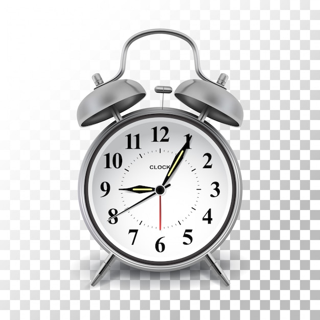 Alarm clock Premium Vector