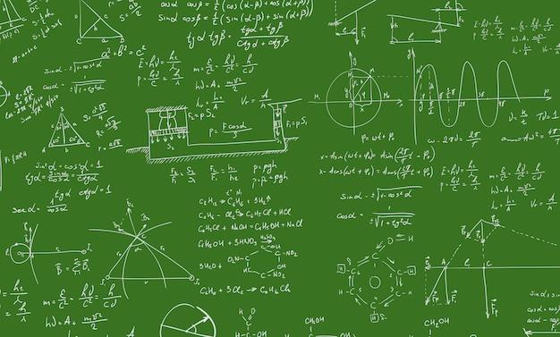 Algebra formula Premium Vector