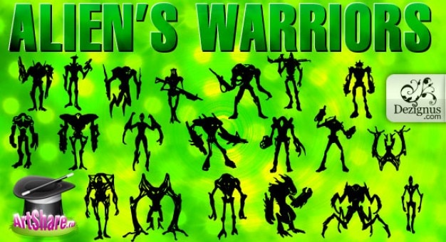 Alien?s Warriors & Monsters