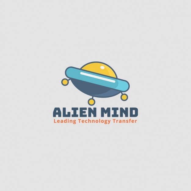 Alien ship logo