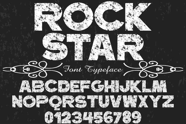 rockstar font free download