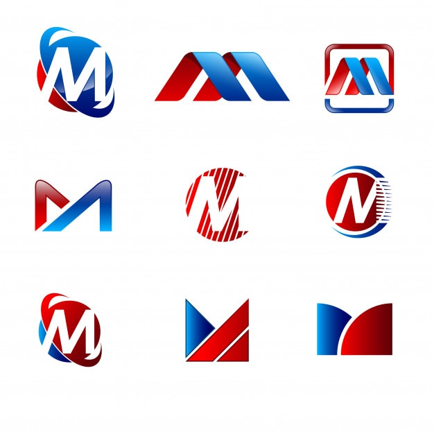 Alphabet letter m logo design set vector premium download alphabet letter m logo design set premium vector thecheapjerseys Gallery