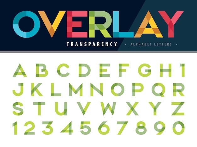 Alphabet letters Premium Vector