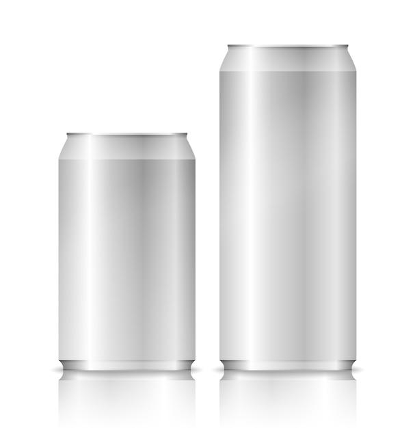 アルミ缶 Premiumベクター