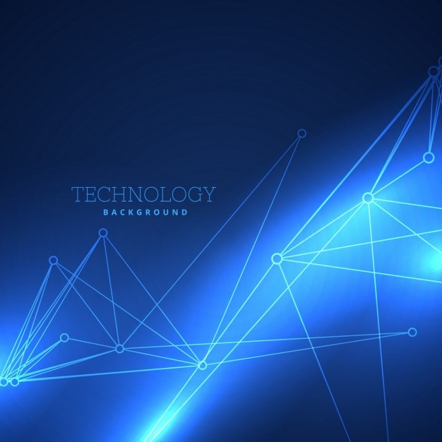 Amazing blue background about technology Vector   Free ... - photo#32