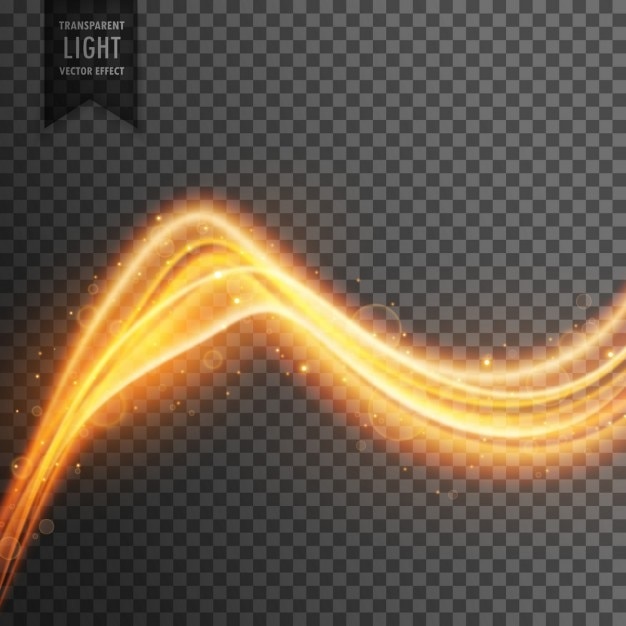 Amazing light effect Free Vector