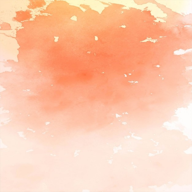 Amazing watercolor texture, orange color