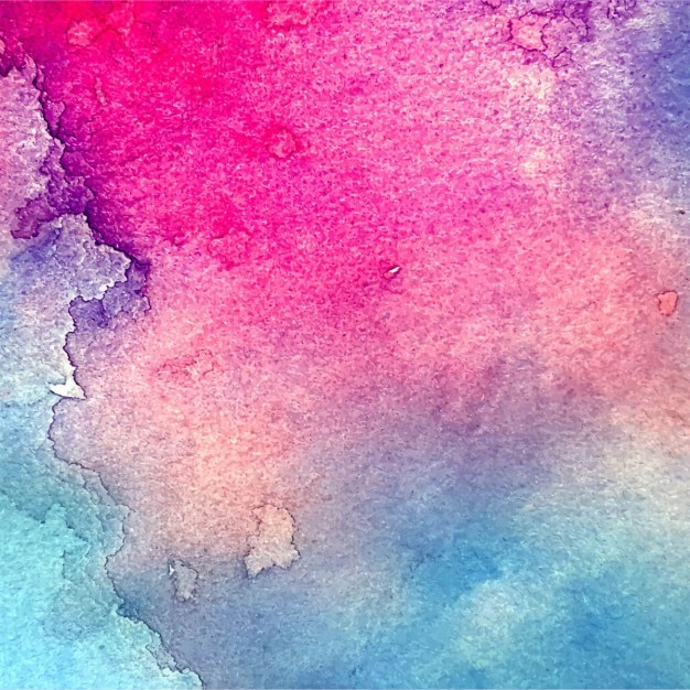 download vector amazing watercolor texture pink and blue