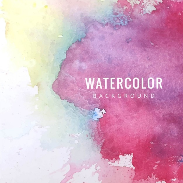 Amazing watercolor texture, pink tones