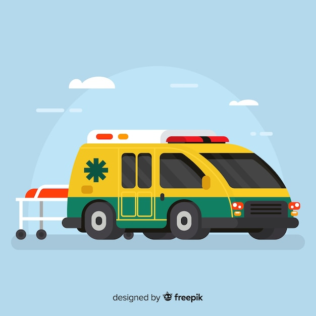 Ambulance Free Vector
