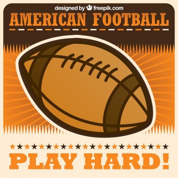 american football ball vector vector | free download