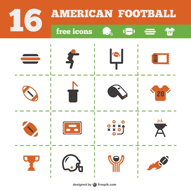 American football  Free sports icons  flaticoncom