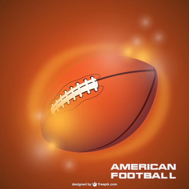 American football sparkly ball