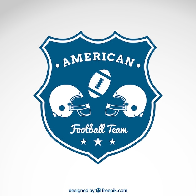 american football team emblem vector free download
