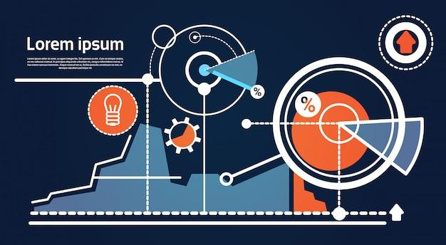 Analysis finance graph financial business chart Premium Vector