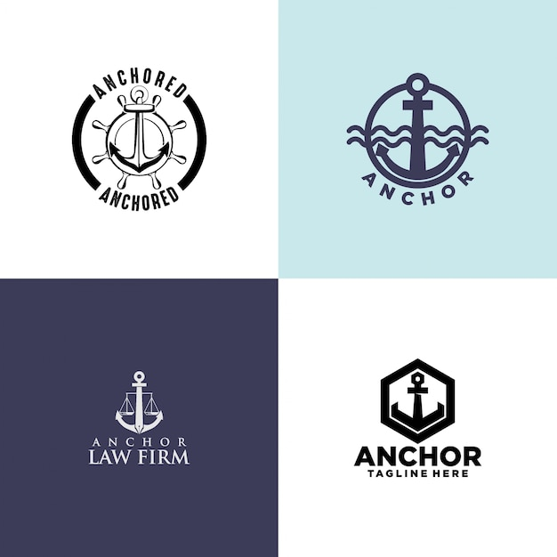 Anchor logo design vector premium download anchor logo design premium vector thecheapjerseys Images