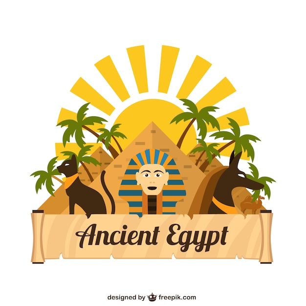 Ancient egypt Free Vector