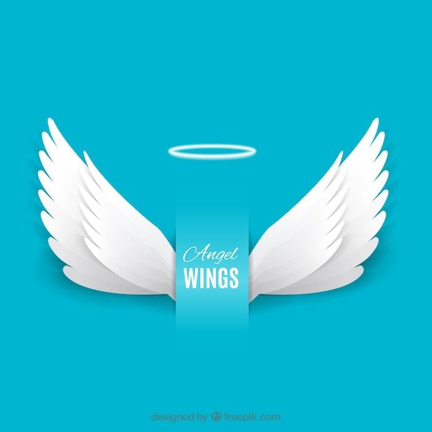 Angel wings Free Vector