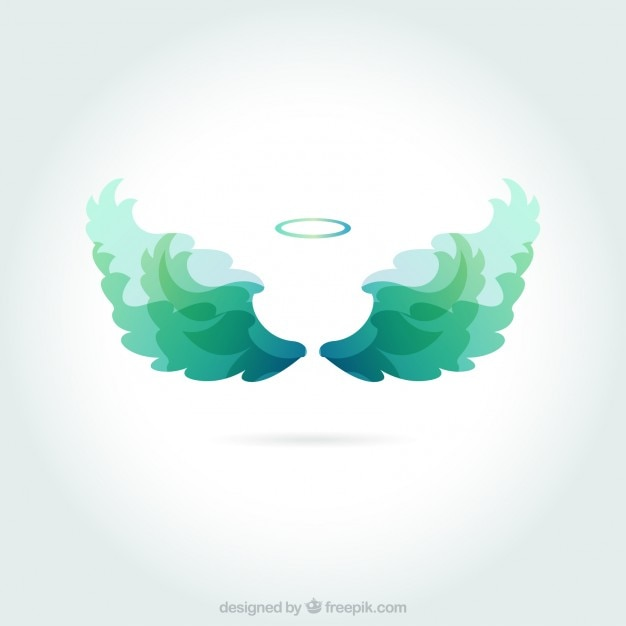 Angels wings Free Vector