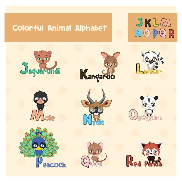 Animal Alphabet Stock Images, Royalty-Free Images ...