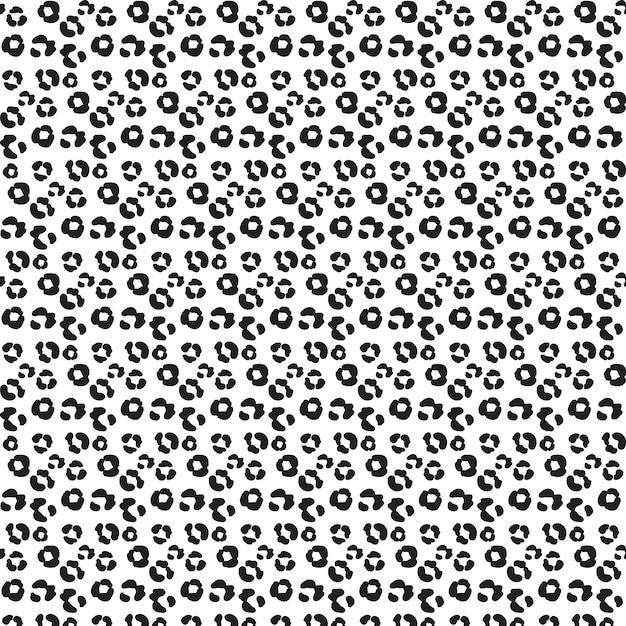 Animal footprint pattern Free Vector