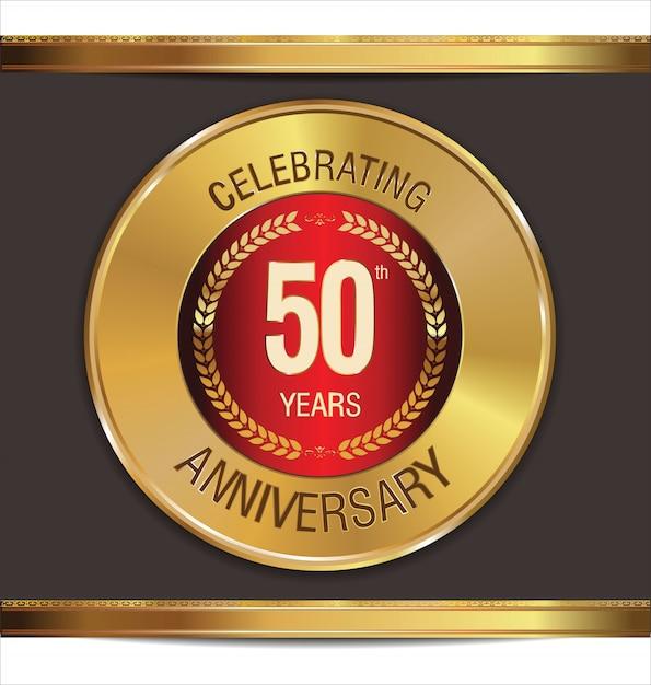 Anniversary background Premium Vector