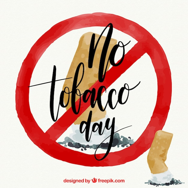 Anti Smoking Fund With Forbidden Symbol Vector Free Download