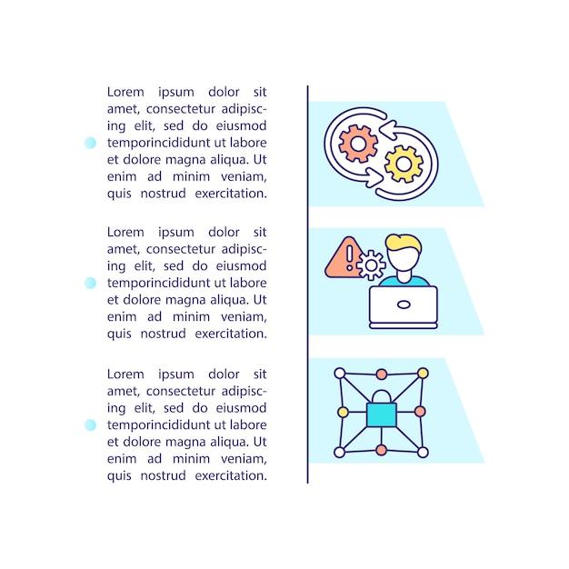 Значок концепции обслуживания приложения с текстом Premium векторы