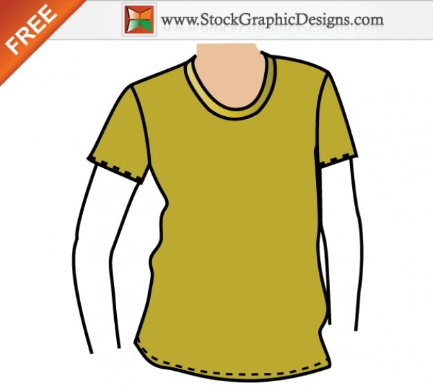 apparel t shirt mockup template free vector free vector