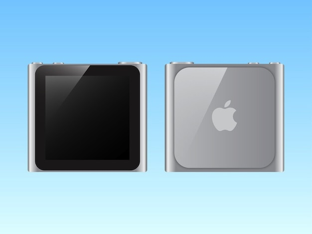 apple ipod nano silver logo vector free download