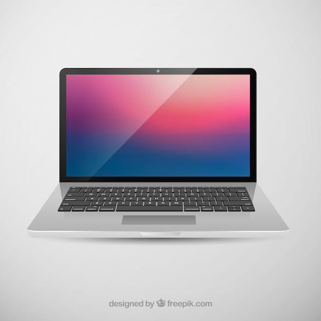 apple macbook pro retina display vector Free Vector
