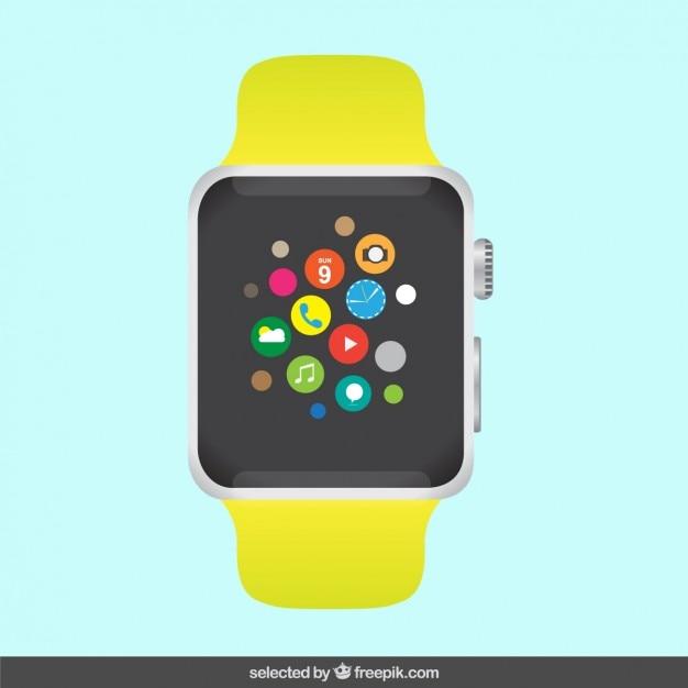 Apple watch Free Vector