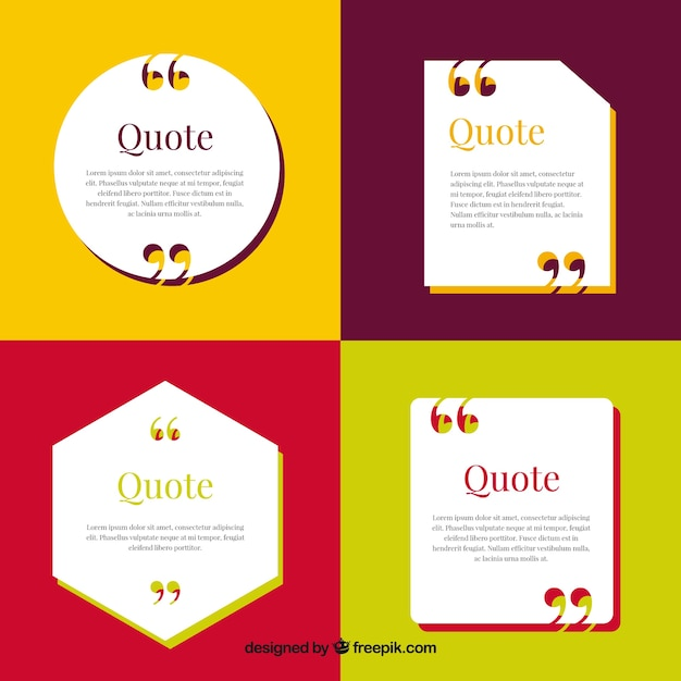 appointment templates in flat design vector free download