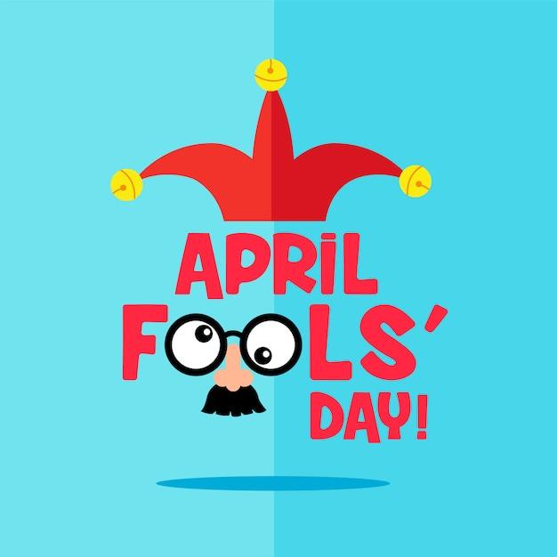 April fool 's day Premium Vector
