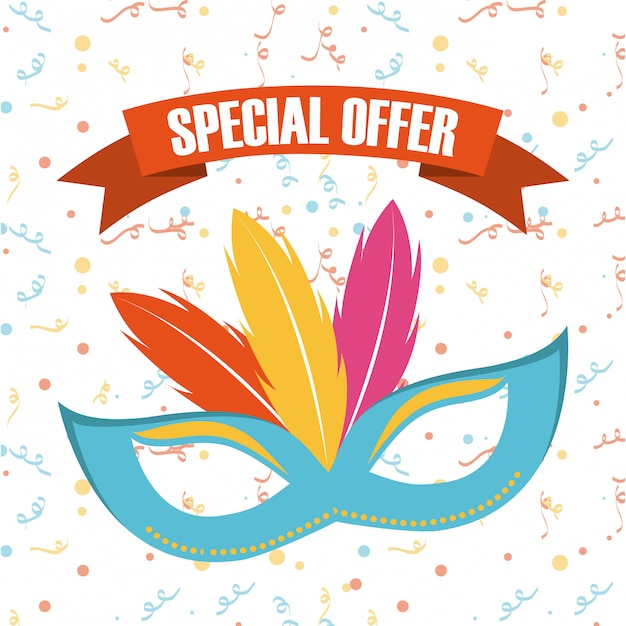 April fools day over white background vector illustration Premium Vector