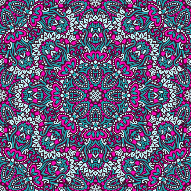 Arabesque seamless pattern. Premium Vector