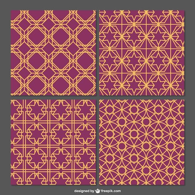 Arabian editable pattern Vector | Free Download