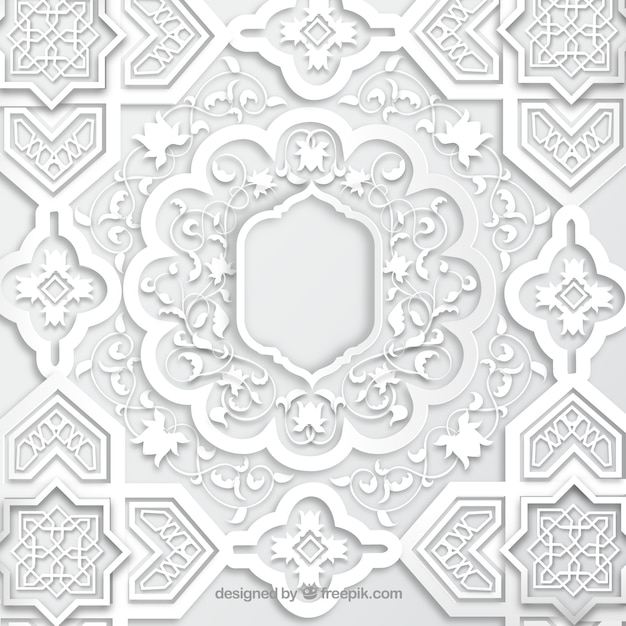 free vector arabic mosaic free vector arabic mosaic