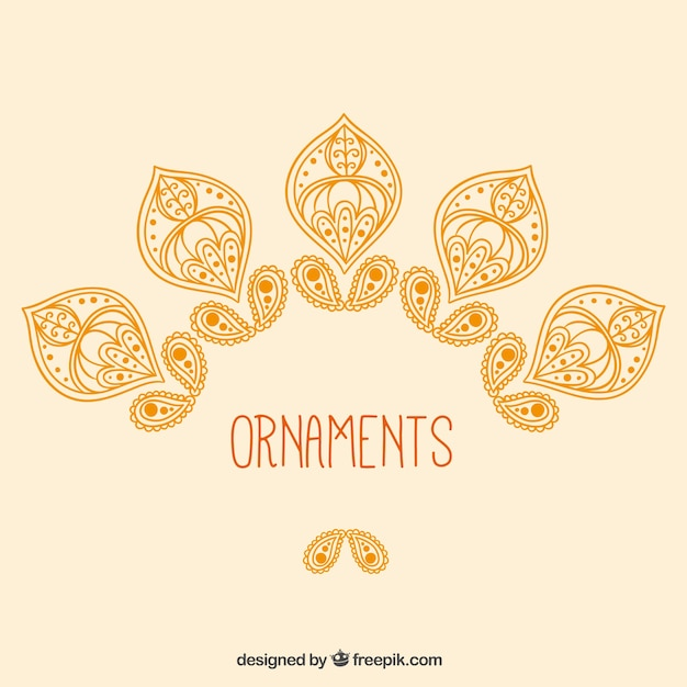 Black and gold islamic ornaments vector free vector download.
