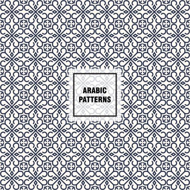 Arabic pattern design Vector | Free Download