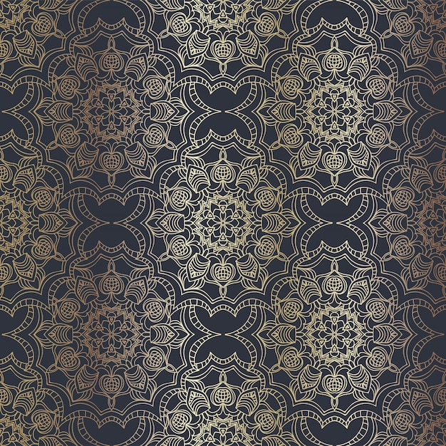 Arabic seamless pattern Free Vector