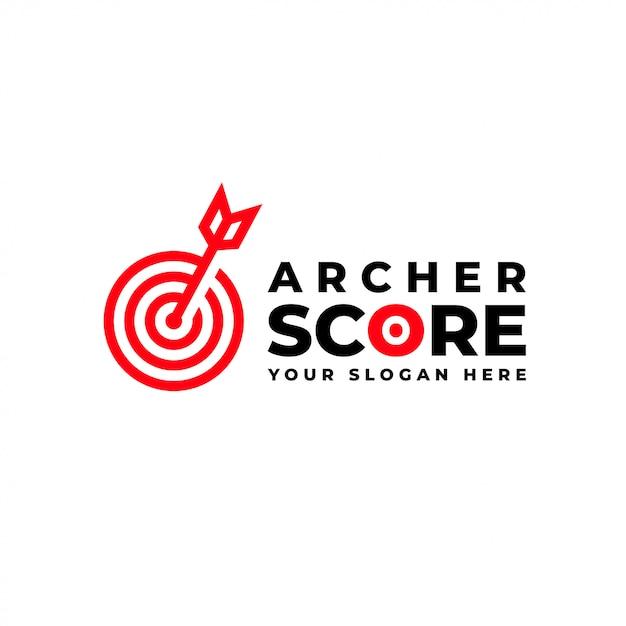 Archer score Premium Vector