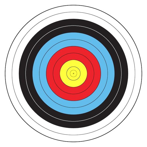 Спортивная стрельба из лука Premium векторы