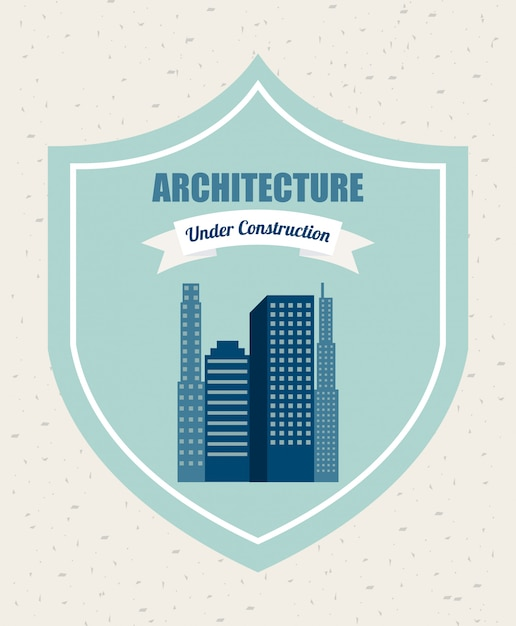 Architecht design Free Vector