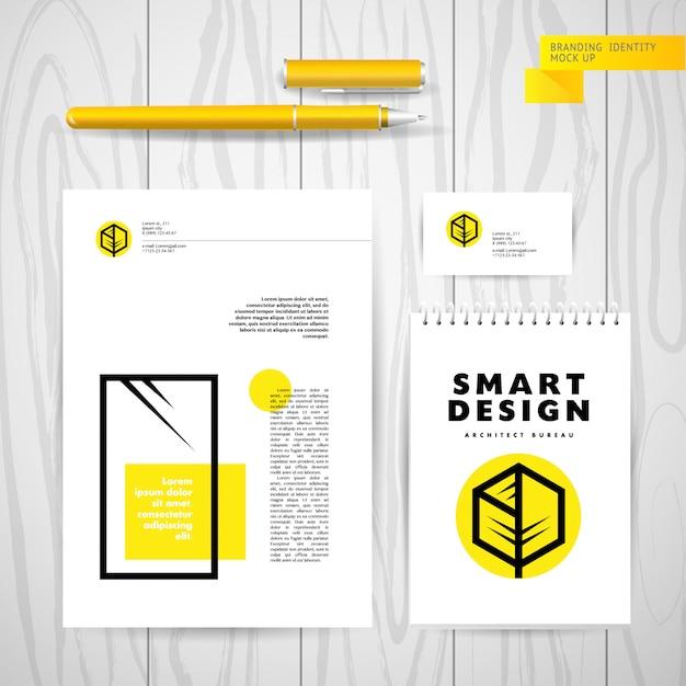 Шаблон логотипа архитектора. Premium векторы